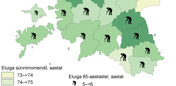 Eesti inimesed elavad vanemaks kui kunagi varem