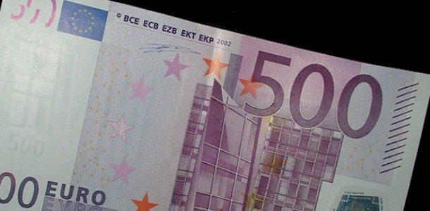 EKP lõpetab 500-eurose pangatähe tootmise ja ringlusse laskmise