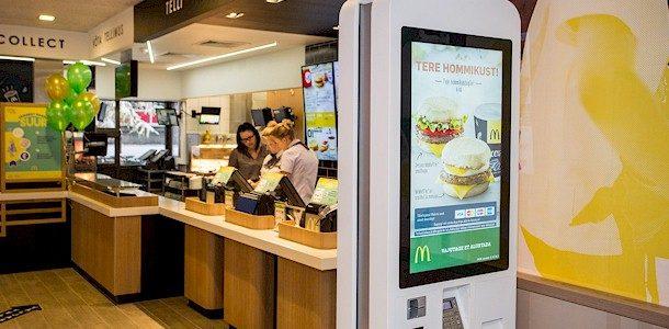 Avati uuenenud teeninduskontseptsiooniga Sõle tänava McDonald's restoran
